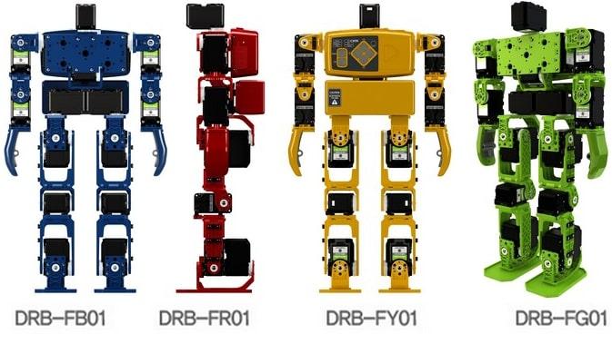 DST Robot - HOVIS Lite Humanoid Robot Kit Colors