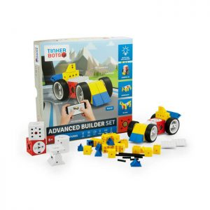 TINKERBOTS ADVANCED BUILDER SET ROBOTIC KIT