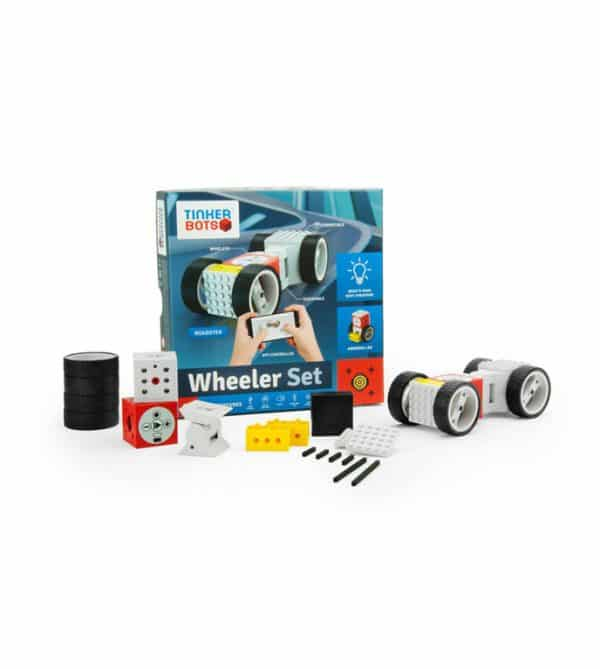 TINKERBOTS WHEELER SET ROBOTIC KIT