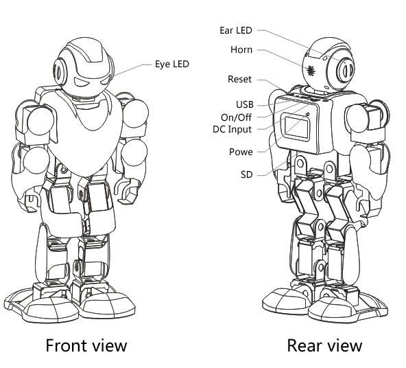 ubtech-alpha-robot-Specifications