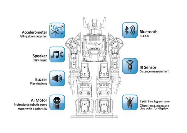 XYZ BOLIDE HUMANOID ROBOT