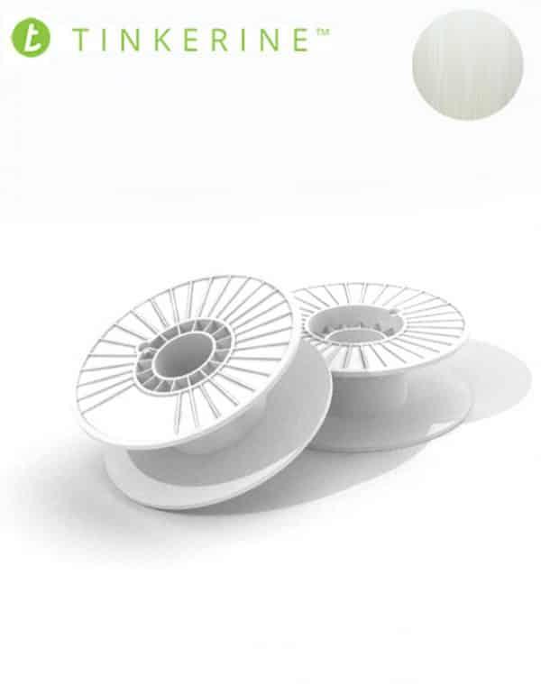 Tinkerine 750g Spool 1.75mm Clear PLA Filament (4 Pieces)