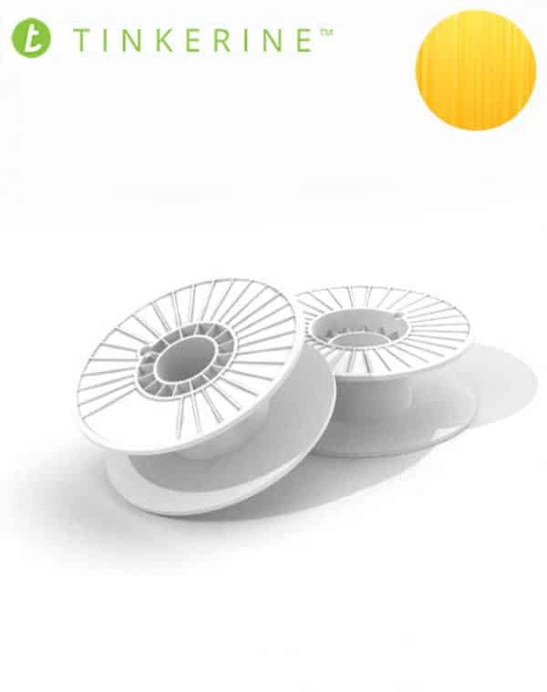 Tinkerine 750g Spool 1.75mm Honey PLA Filament (4 Pieces)