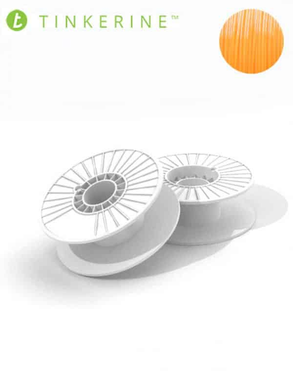 Tinkerine 750g Spool 1.75mm Tangerine PLA Filament (4 Pieces)