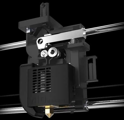 Zeus 3d printer thunderbolt extruder